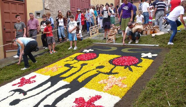 Blumenteppiche La Orotava