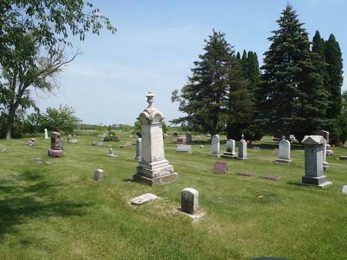 Beautiful Resting Place; Millard Cemetary, Wisconsin