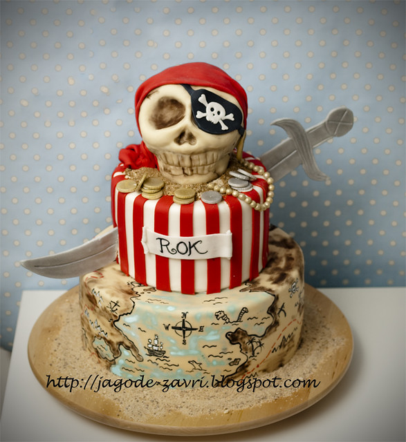 Pirate cake Flickr - Photo Sharing!