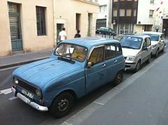 Beat up car in Latin Quarter