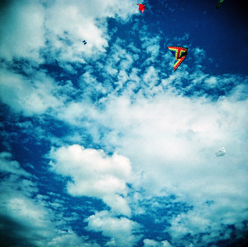 Clouds And Kites