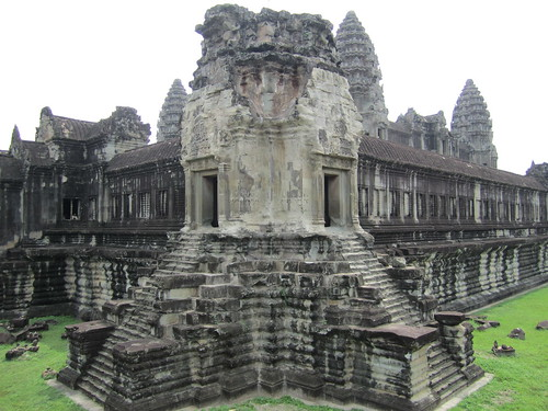 The Outer Tower of Angkor Wat