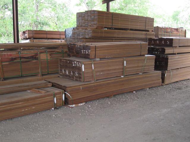 Ipe Decking And Siding Austin Texas At Us Lumber Brokers