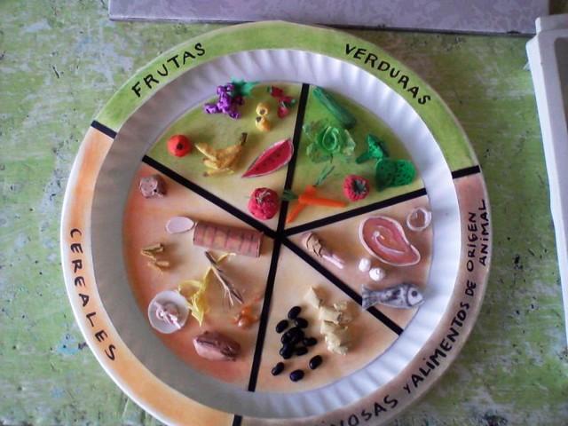 Como hacer una maqueta del plato del buen comer imagui for Sugerencias para hacer de comer