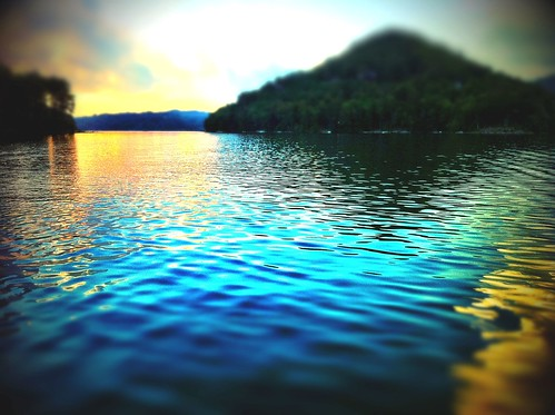 trees sky lake mountains nature water landscape northcarolina iphone4 iphonephotography iphoneography