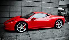 automobile(1.0), wheel(1.0), vehicle(1.0), ferrari 458(1.0), performance car(1.0), automotive design(1.0), land vehicle(1.0), luxury vehicle(1.0), coupã©(1.0), sports car(1.0),