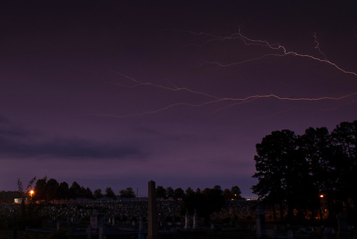 longexposure sky storm nature cemetery grave graveyard weather night georgia graves lightning gravestones lagrange troupcounty thesussman hillviewcemetery sonyalphadslra200 regionwide shadowlawncemetery