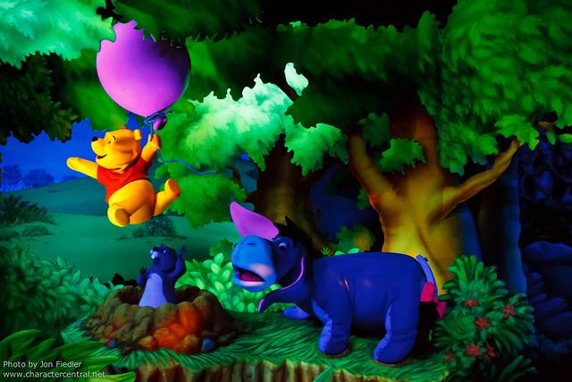 Disneyland June 2011 - The Many Adventures of Winnie the Pooh