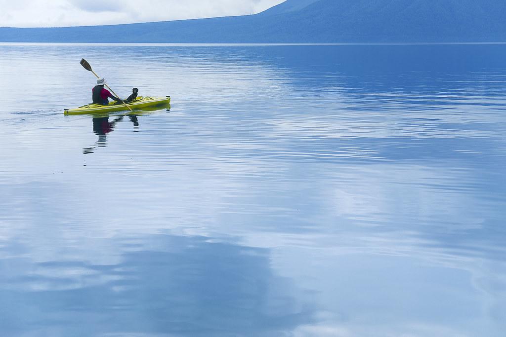 Shikotsu Lake,Hokkaido