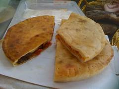 bread(0.0), murtabak(0.0), pupusa(0.0), quesadilla(0.0), roti(0.0), meal(1.0), breakfast(1.0), junk food(1.0), flatbread(1.0), baked goods(1.0), hotteok(1.0), food(1.0), dish(1.0), cuisine(1.0),
