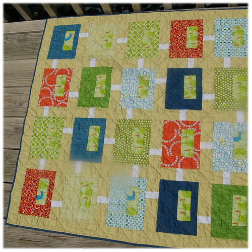 Coming Soon baby quilt