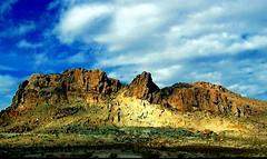 Badlands and Blue Sky