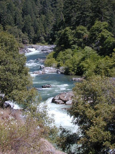 Yuba River, flowing well in summer2011