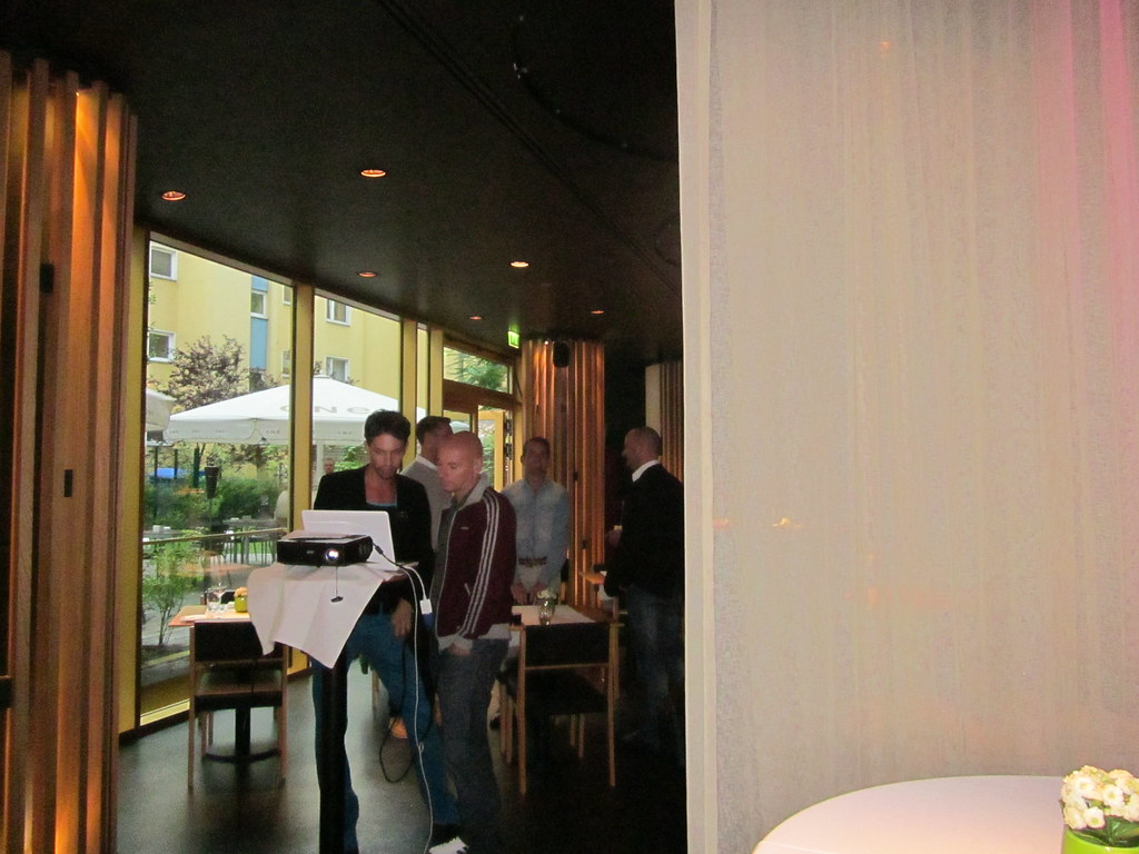 AxelPeople presentation at the Axel Hotel Berlin