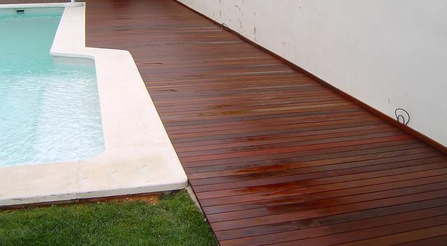 Suelos de madera en jardines flickr photo sharing - Suelo de madera para jardin ...