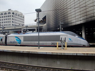 Amtrak Bombardier Acela Power Car 2023 at South Station