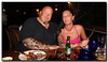 Us at Amazonia Churrascaria Aruba 2011