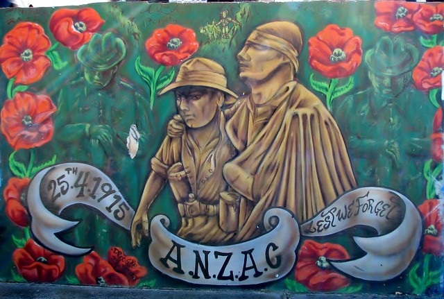 ANZAC Graffiti - Bondi Beach