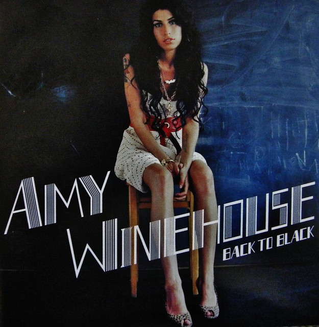 Amy Winehouse 1983 to 2011 - Back To Black Album Cover. R ...