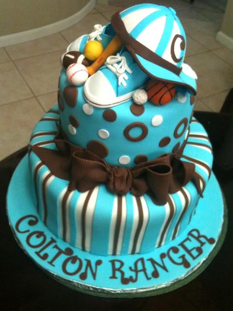sports baby shower cake flickr photo sharing