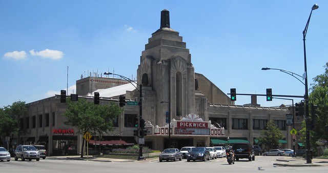Pickwick theater building flickr photo sharing for Park ridge building department