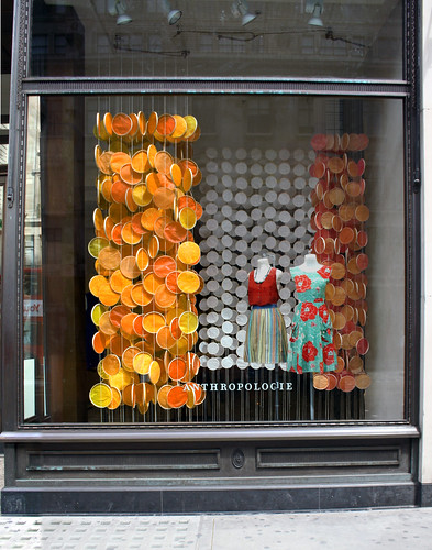 Clothing Store Window Displays
