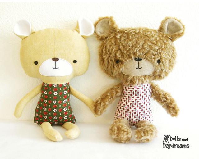 teddy bear stuffed toy softie sewing pattern | Flickr - Photo Sharing!