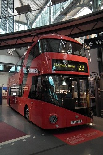 2012 London double decker bus prototype