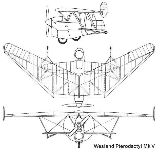 Westland Pterodactyl Mk.V 3v