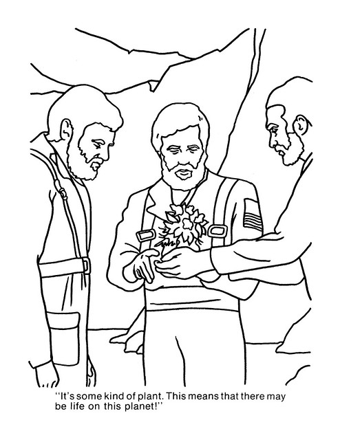 Planet of the Apes Coloring Book 0100020