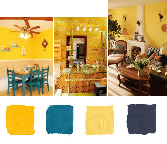yellow-color-scheme-home-decor-ideas-04  Flickr - Photo Sharing!