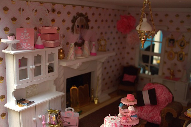 Cupcake Room Doll House Interior Explore My Delicious Bl Flickr Phot