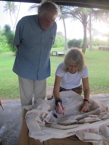 Kathrin Messner & Rahu, Ahungalla, Sri Lanka