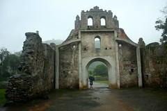 Entrance, ruins of the Church of Nuestra Señora de la Limpia Concepcion / Entrada a las ruinas de la Iglesia de Nuestra Señora de la Limpia Concepcion, Ujarrás