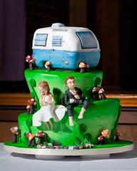 Camper Wedding Cakes