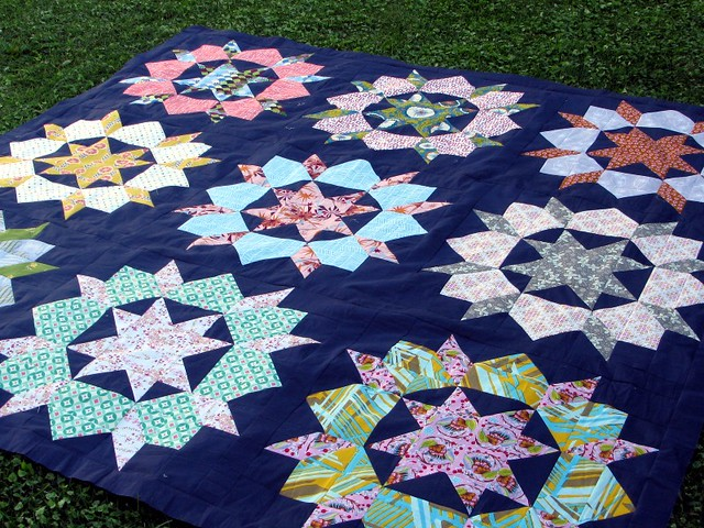Swoon Quilt Top, done