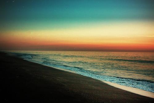 beach sunrise soldier florida stuart