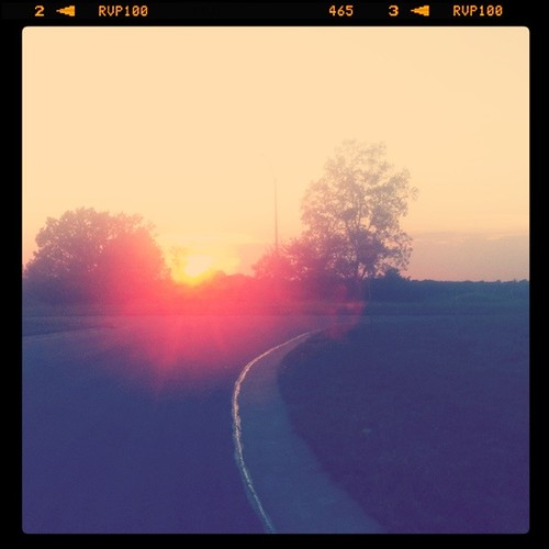 Sunset Running
