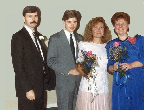 1989 10 21 Elaine & Richard Wedding 762f