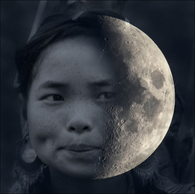 The Moon last night with Hmong soul
