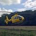 Small photo of Air Ambulance on Long Causeway