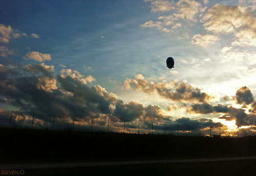 sunset blimp directv