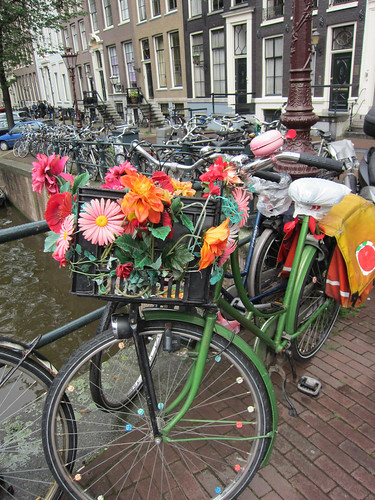 another flower bike