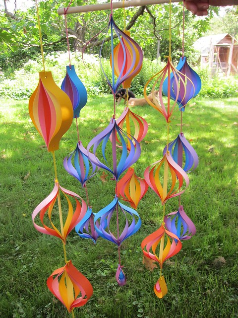 paper mobiles!