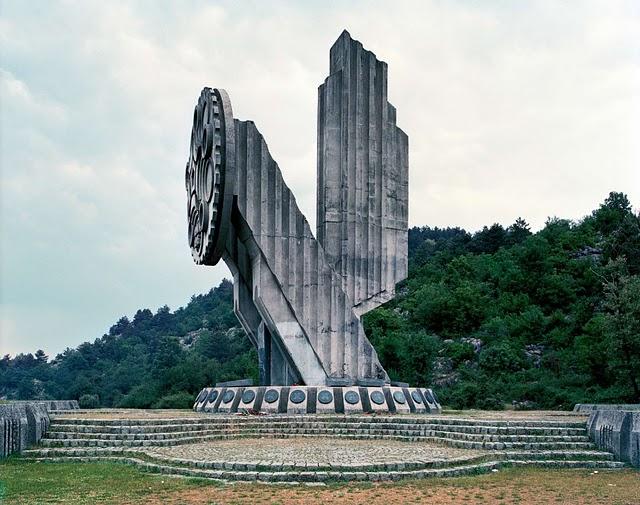 Monument. Nikšić, Montenegro.
