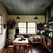 Sharyn Cairns {rustic vintage industrial modern kitchen}
