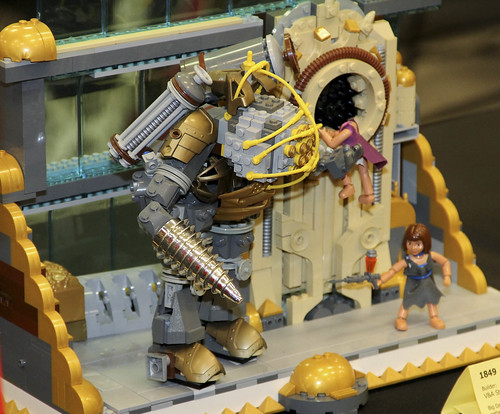Bioshock Rapture with Big Daddy by V&A Steamworks at Brickcon 2011