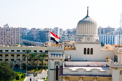View from Baron Hotel, Cairo, Egypt