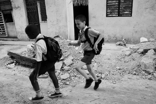 Estudiantes por La Habana