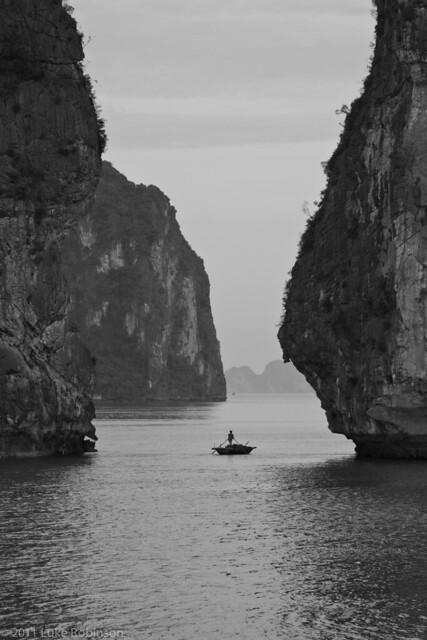 Lone Fisherman, Ha Long Bay